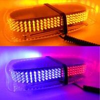 Melhor Vender 240 LED 30 W Aplicação Da base de Ímã de Barra de luzes de Aviso De Emergência Strobe Light Lâmpada 12 V Universal, led piscando luz