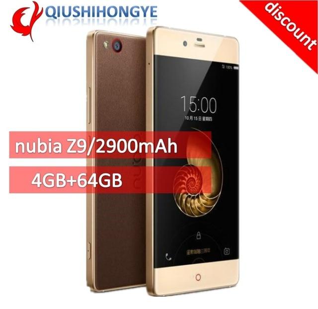 US $265 99 |Zte Nubian Z9 original 4 g LTE mobile 5 2 FHD dual Sim qualcomm  Sanpdragon core 4 gb 810 octahedral RAM64GB ROM Android 6-in Cellphones