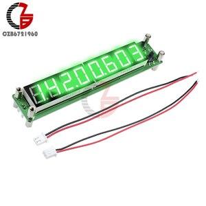 Image 3 - Contador de frecuencia de señal, medidor de temperatura de tubo Digital de 8 dígitos, RF 0,1 a 60MHz 20MHz a 2400MHZ 2,4 GHz rojo verde azul