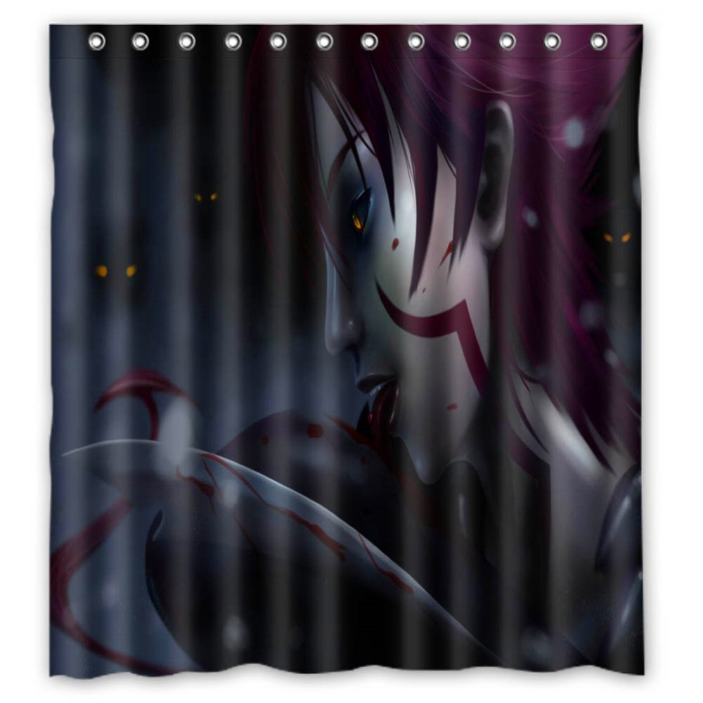 Detail Feedback Questions About Vixm Killer Shower Curtains Witchblade Wallpapers Anime Fabric Bathroom 66x72 Inch On Aliexpress
