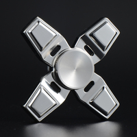 EDC Tri Spinner Fidget Toys Pattern Hand Spinner Metal Fidget Spinner ADHD Adult Decompression Toys Action