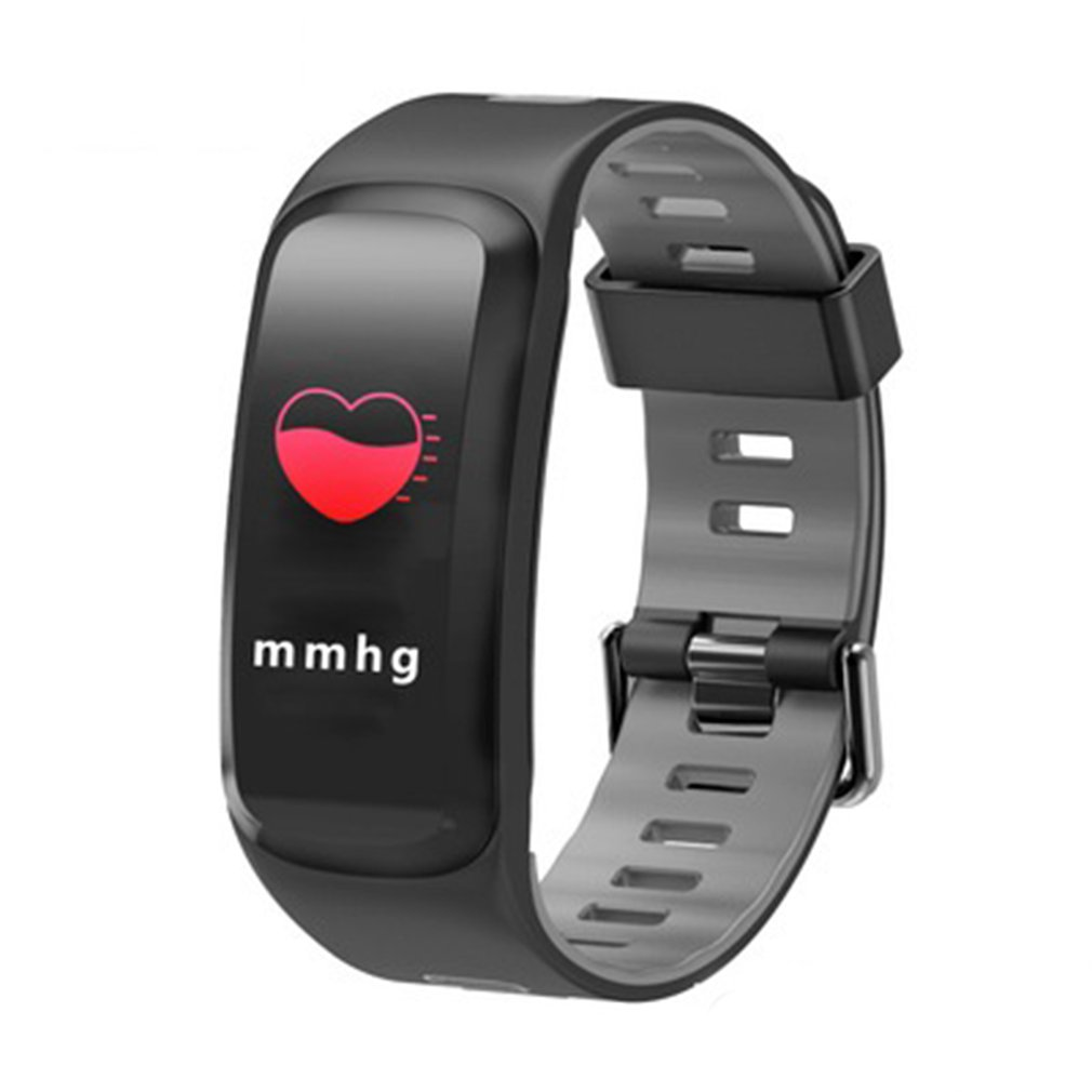 Multi-function NFC Smart Bracelet Real-time Heart Rate Monitor Pedometer Sports Smart Watches Clock For Women Men Wristwatches