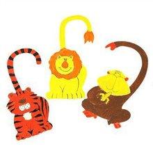 6 UNIDS/LOT. Pintura inacabada aviso en la puerta. Dibujo juguetes. juguete Creativo. aprendizaje Temprano DIY. artesanías de madera. Hobby. Family fun. Al Por Mayor