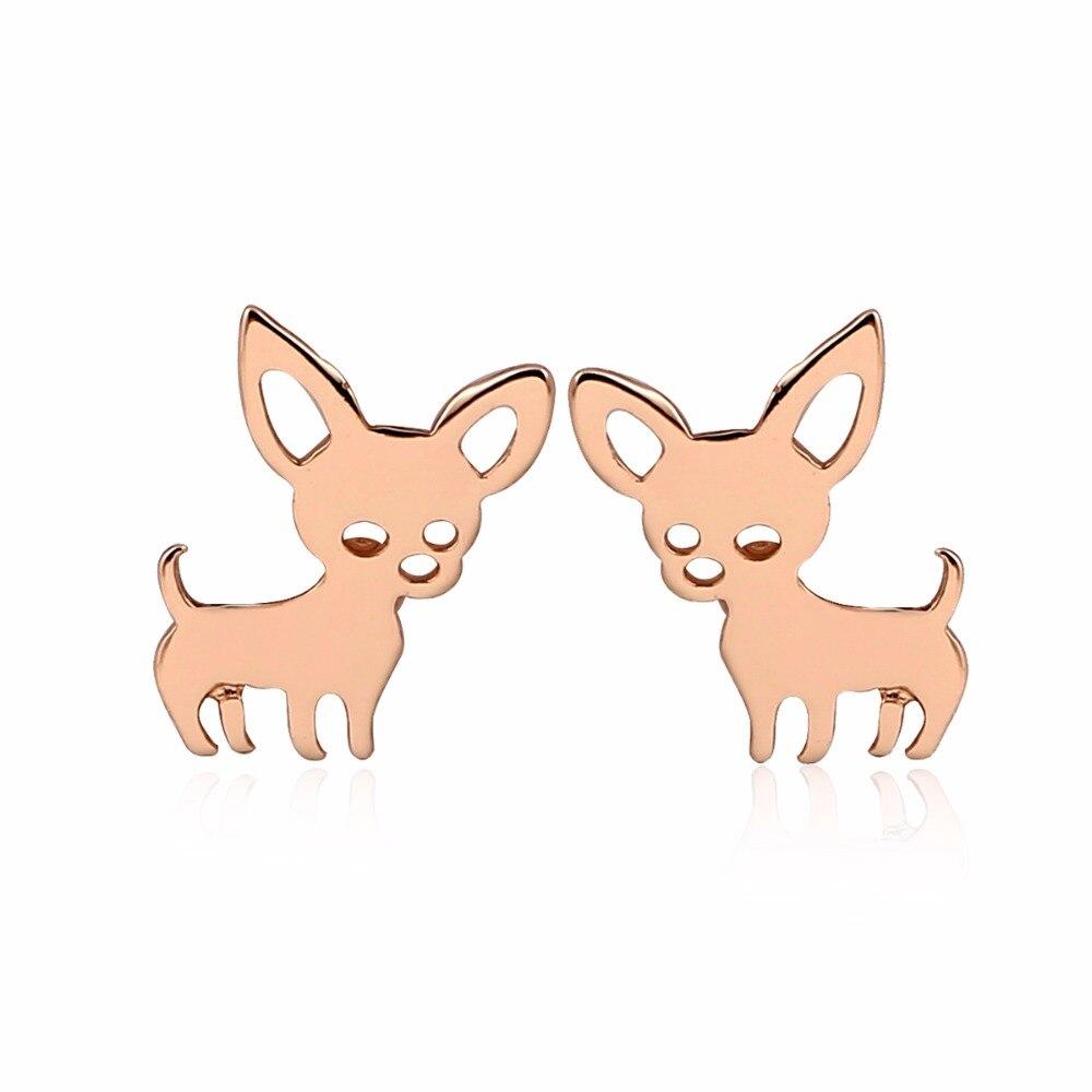 Chihuahua Earrings for Women