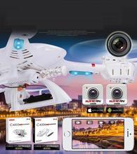 Envío libre MJX X-SERIE X400 FPV 2.4G 6-Axis 3D Rollo Quadcopter RC R/C Drone giroscopio de $ number ejes con/sin FPV C4005 cámara