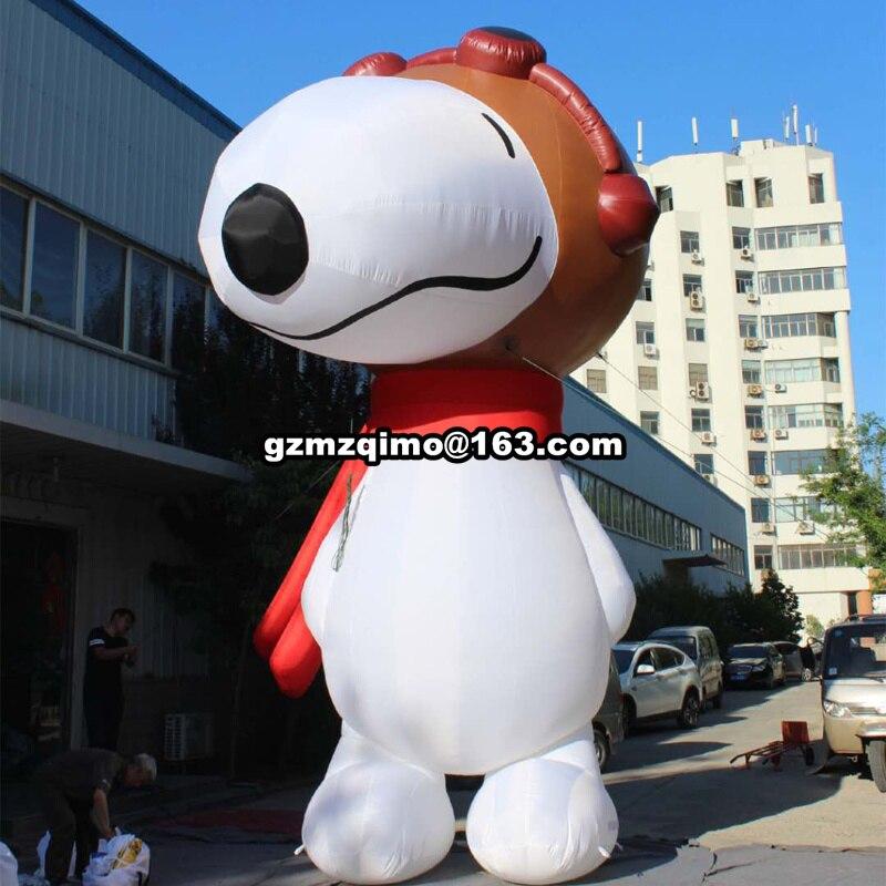 Gonflable animal décoration gonflable chien pour la publicité géant gonflable chien