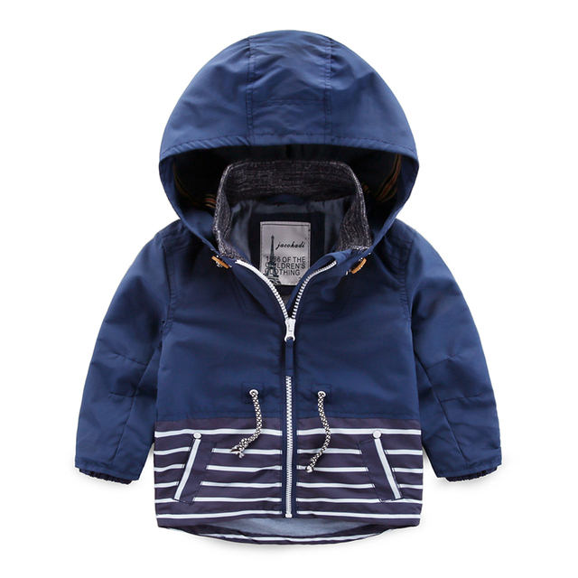 a1cfb5ba7 Kids Toddler Boys Jacket Coat Hooded Jackets For Children Outerwear ...