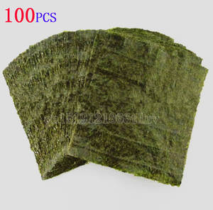 Sushi-Nori Seaweed Snack Green Wholesale Dried 100pcs-Set High-Quality
