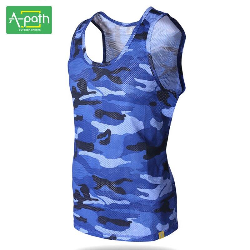Sommer Utendørs Sport Taktisk Vandring Skjorte Trykk Camouflage Menn - Sportsklær og tilbehør