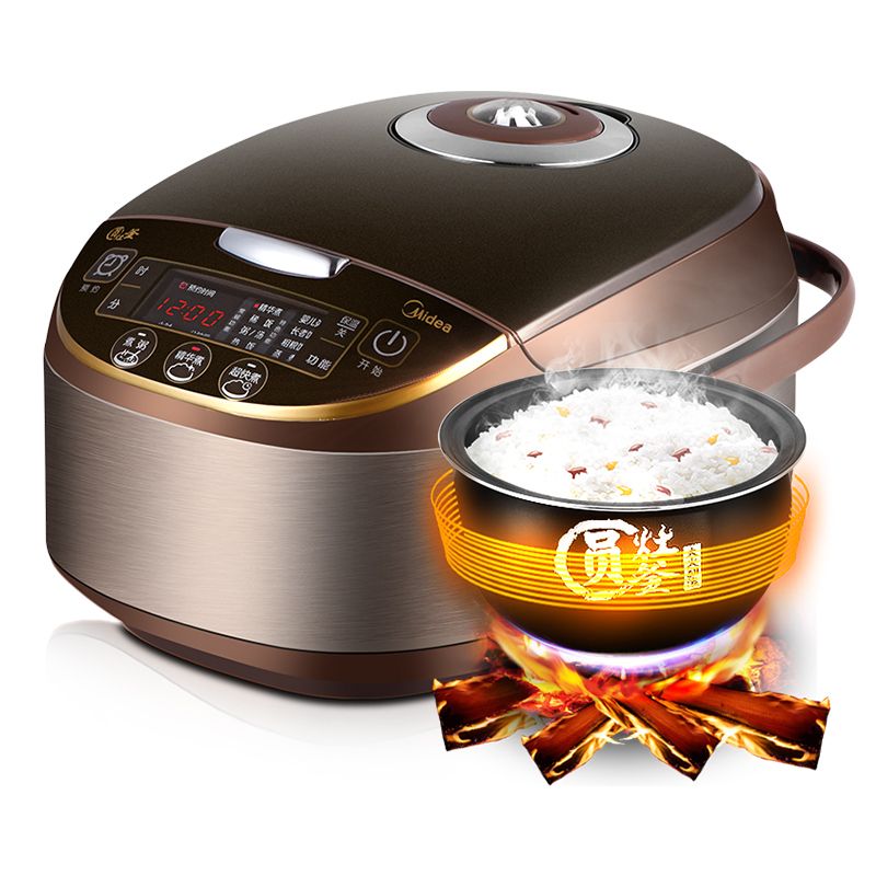 Midea  4L Electric Rice Cooker Microcomputer  Timing Reservation Rice Cooking MB-WFS4017TM rice cooker parts open cap button cfxb30ya6 05