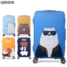 Здесь можно купить   QEHIIE Elastic Luggage Protective Cover For 19-32 inch Trolley Suitcase Protect Dust Bag Case Child Cartoon Travel Accessories Travel Accessories