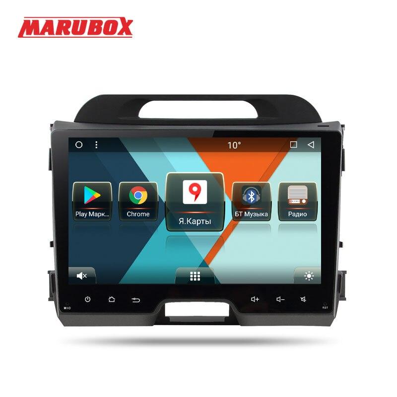Marubox 9A211MT8 Voiture lecteur multimédia pour kia sportage 2010-2016 android 7.1 Octa core 2g RAM 32g ROM 9 pouce GPS Radio wifi