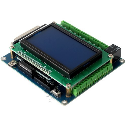 CNC 4 Axis Kit Professional Breakout Board Display & Keypad TB6600HG Drivers 5A
