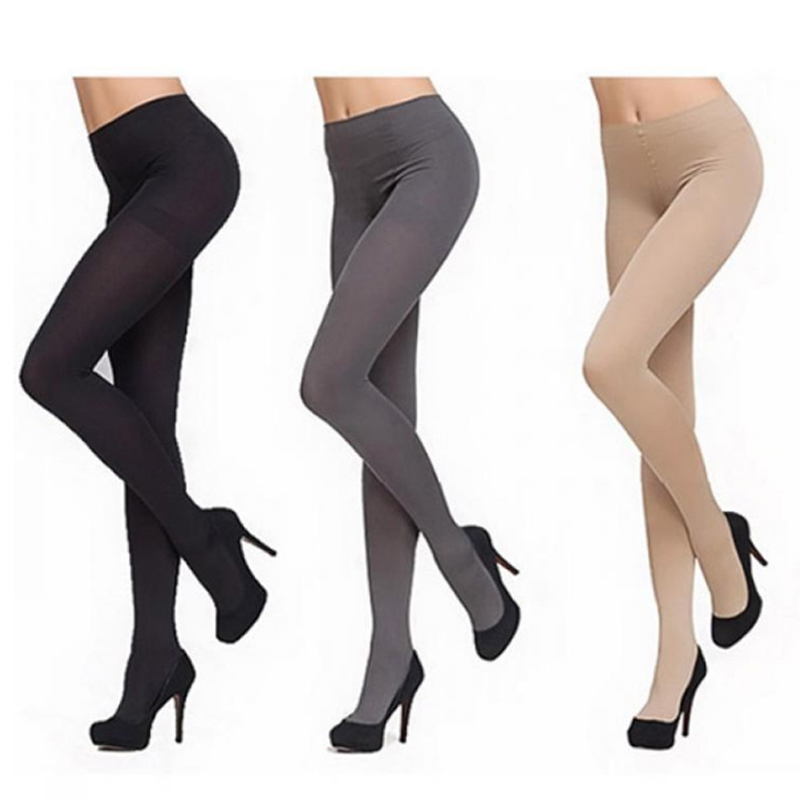 120D New Women Pantyhose Footed Opaque Anti-hook Wire High Quality Velvet Solid Color Tights ...