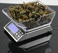 500g 0.01g Digital electronic Weight weighing Scale Jewelry scale Balance with currency detector retail box
