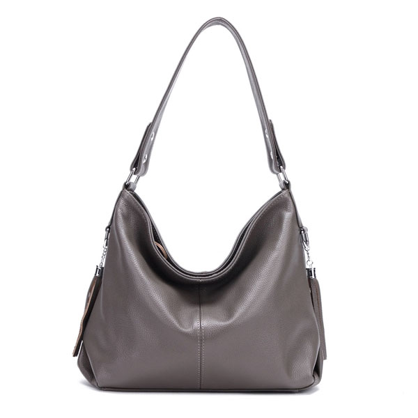 Genuine Leather Women's Hobo Shoulder Bag in 9 Colours