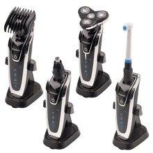 4 in 1 Men Electric Shaver Beard Razor Waterproof Barbeador Rechargeable Shavers