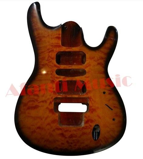 Afanti Music DIY Electric guitar body (ADK-002) afanti music diy guitar diy electric guitar body adk 099