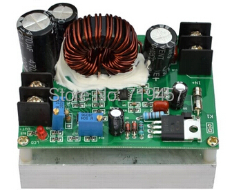 FREE SHIPPING DC-DC Input Module Of Solar Output Voltage Adjustable Step-up 12-80V L 12-80V 800W High Power