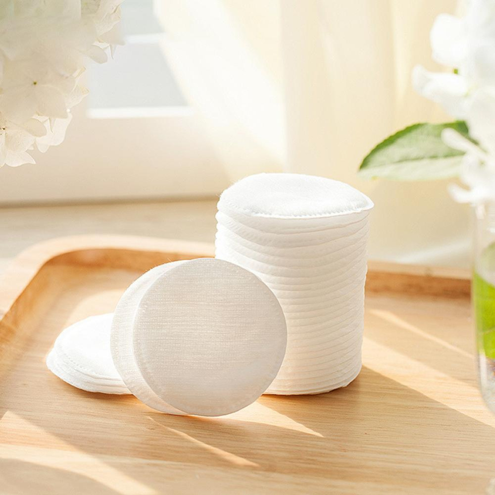 50/100 Pcs Make Up Cotton Pads Wipe Pads Nail Art Polish Cleaning Pads Facial Cosmetic Cotton Makeup Remover Clean Tool
