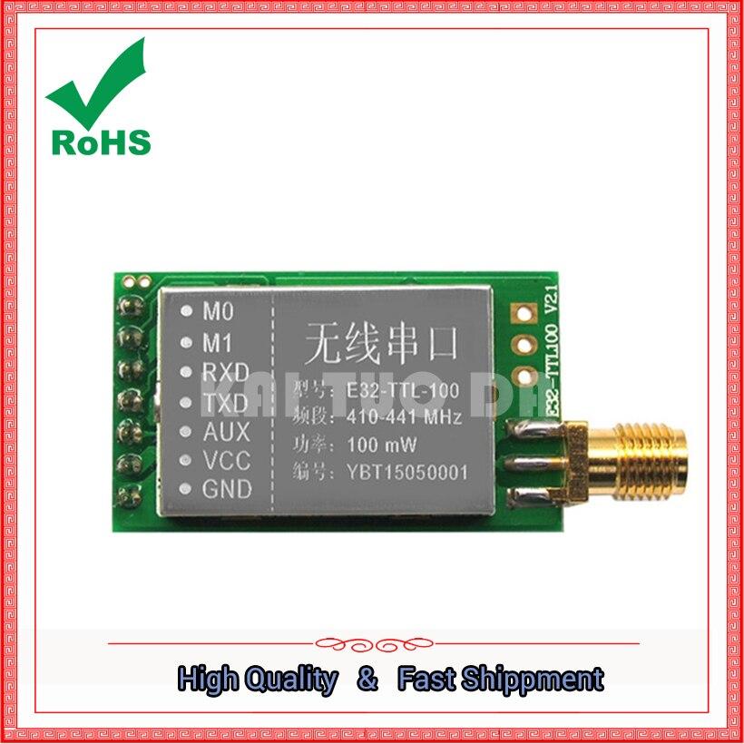SX1278 / SX1276 wireless module 433MHZ wireless serial port | LORA spread spectrum 3000meter UART interface board 433m 433 mhz