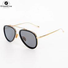 EE Brand Designer Polarized Sunglasses Womens Pilot Vintage Sunglasses Female Fashion Mirrored Eyewear Oculos Feminino De Sol