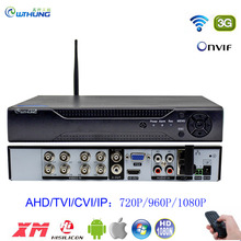 DVR Recorder Coxial-Control CCTV WIFI XMEYE 8-Channel HDMI H.264 Cloud 8CH VGA P2P 5-In-1