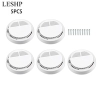5pcs Lot Smoke Detector Fire Detector Alarm Sensitive Photoelectric Independent Fire Smoke Sensor For Home Office