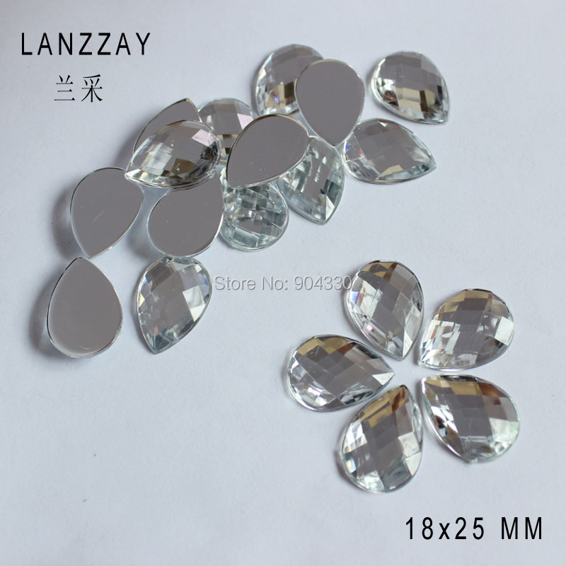 Buttons Free Shipping 200pcs Clear 12mm Octangle Double Holes Pointed Back Acrylic Diamond Apparel Sewing Buttons Crafts Diy Rhinestone Home & Garden