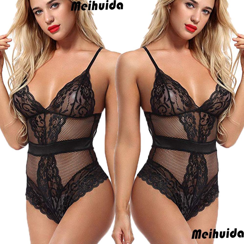 14d13501b15b Sexy New Women Lace Sleepwear Underwear Bodysuit Lingerie Bodysuits Sexy  Jumpsuit