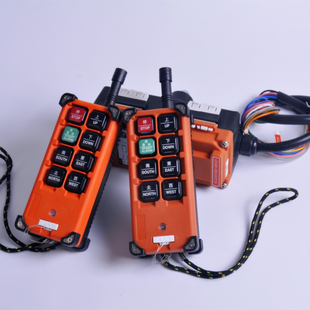 F21-E1B Industrial Remote Control Crane Wireless redio control1 Transmitter 1Receiver  for VHF310-331 MHZ  for truck hoist crane