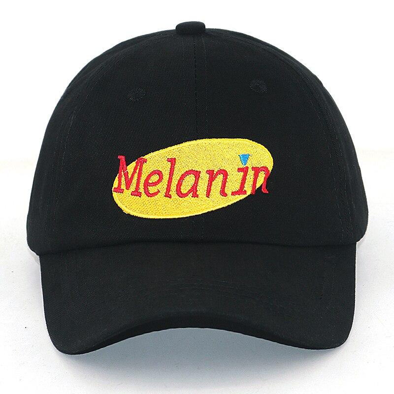 New Melanin   baseball     cap   100% cotton adjustable sports casual   caps   men women fashion soft dad hat wholesale