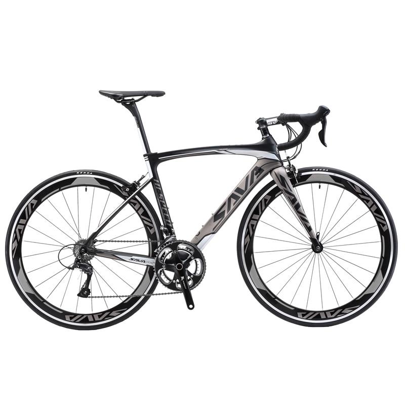 SAVA Carbon Road Bike 700C Road Bike Carbon Bicycle Road Racing Bike 22 Speed Bike With SHIMANO 105 5800 Sets Bici Da Corsa Bici