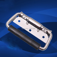 Free Shipping Metal Handle Aluminum Cases Handle Luggage Handle Air Box Spring Handle Bag Hardware Equipment