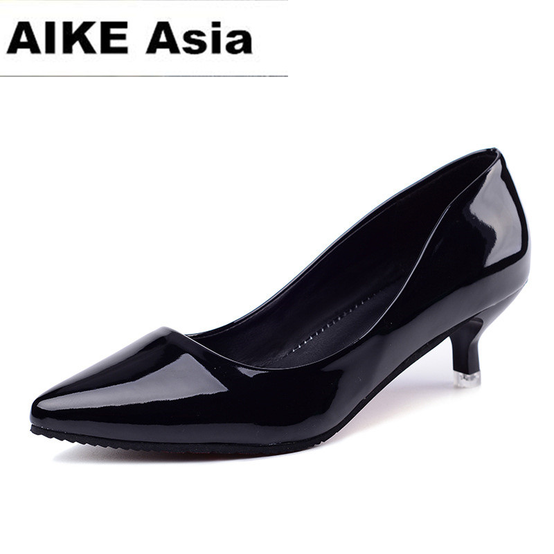 2018 HOTWomen Pointed Toe High Heels Fashion Sexy Shoes Women Pumps Wedding Shoes Business Working Shoes Woman Zapatos Mujer zapatos mujer designer women shoes pumps summer high heels sexy fashion wedding shoes pointed toe thin heels office shoes