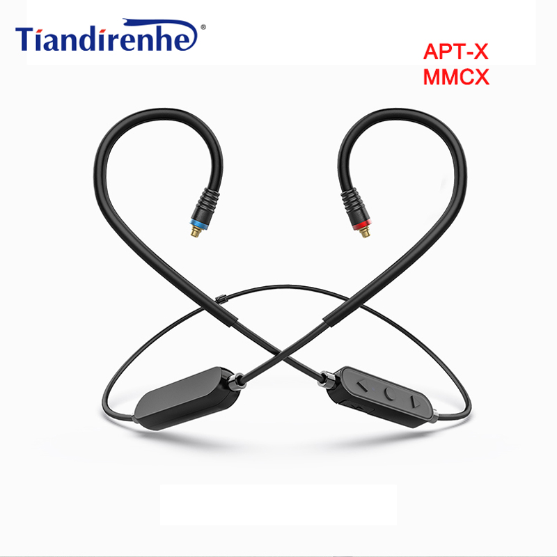 MMCX Wireless Bluetooth aptX AAC Cable for Shure SE215 SE535 SE846 for Westone/JVC Sport with Mic for Android IOS цены