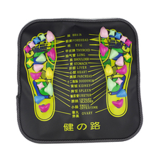 Reflexology Walk Cobblestone Pain Relief Foot Massager TCM foot acupoint Massage relax Mat Pad Square Cushion beauty health care