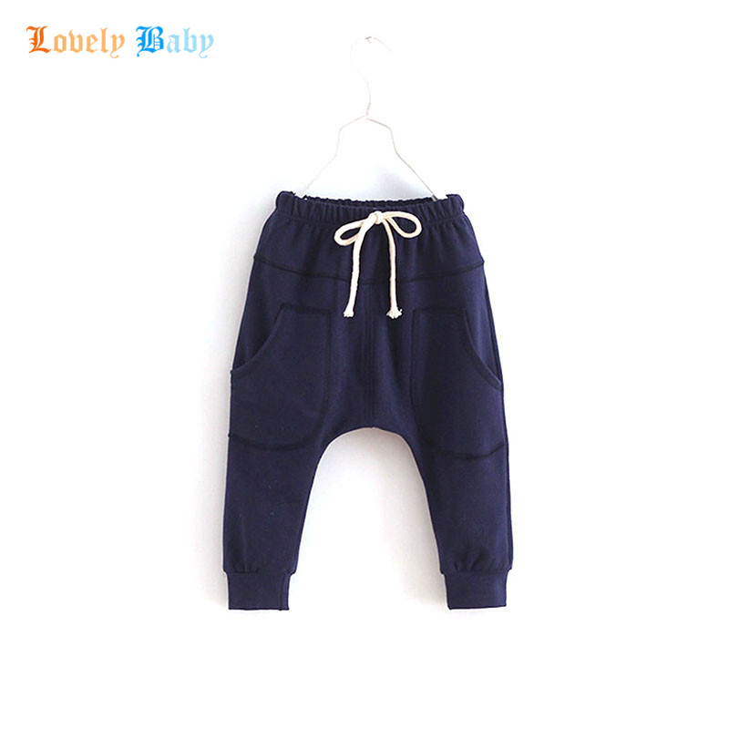 Lollipop Children Clothes Store Esportes Fitness Kid Toddler Child Harem Pants Baby Boy Girl Trousers Bottoms