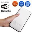 AODIN LED HD Android  RK3128 1GB RAM 8GB ROM Portable Pocket Mini Projector 2.4G/5G WiFi Video Projector EU Plug