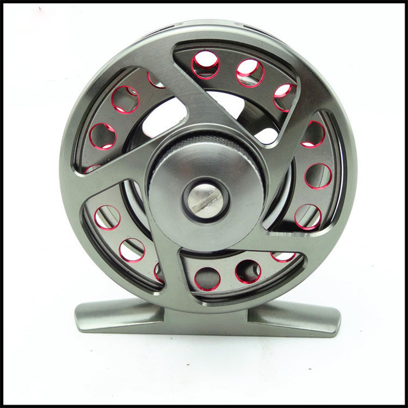 New Full Metal Former Fly Fishing Wheel 4/5/6 large Ice Fishing Line - Fishing - Photo 3