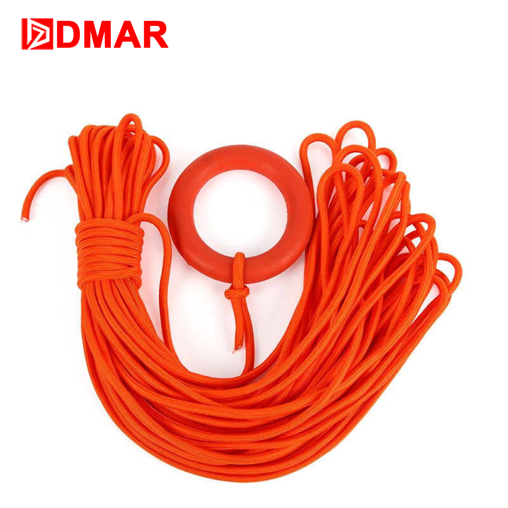 DMAR Swimming Pool Rescue Rope Life Saving Rope Water Safety Throwing Rope Safe Equipment Lifeguards Tool Accessories 2019