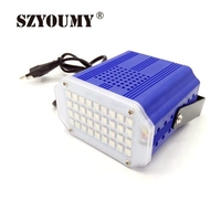 High Quality Mini 36x LED White Flash Lighting Strobe DJ Strobe Light Stage LED Flash