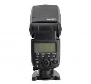 Mcoplus MK-570 Flash Майке Speedlite GN58 2.4 ГГц Беспроводной синхронизации для Canon EOS 5D Mark II III 6D 7D 50D 60D 70D 600D 580EX II