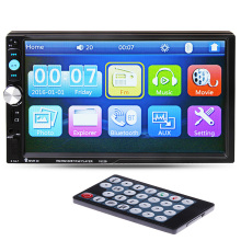 "7 "" HD reproductor de Radio del coche 2 Din pantalla táctil Bluetooth estéreo Radio FM / MP3 / MP4 / MP5 / Audio / Video / USB / TF electrónica automotriz en el tablero"