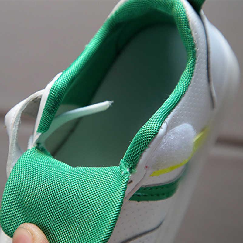 ขนาด 21-30 กีฬาเด็ก LED รองเท้าเด็ก Antislip วิ่งเรืองแสงรองเท้าผ้าใบเด็กวัยหัดเดิน Breathable รองเท้ารองเท้าผ้าใบส่องสว่าง