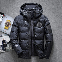 New Top quality 70% Duck Down Jacket Men Coat Thick Snow Parka Hooded Warm Winter Jacket Male Outerwear