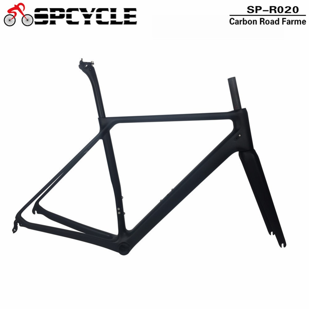Spcycle T1000 Full Carbon Fiber Road Bike Frame Di2 & Mechanical Racing Bicycle Carbon Road Frame Super Light Only 850g 2017 super light weight only 805g carbon road bike frame full carbon bicycle frameset cycling frames for 27 2 seatpost qr130 9mm