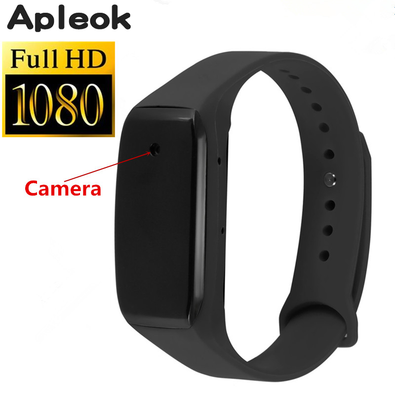 2017 New Wearable Bracelet Camera HD 1080P Life Video Recorder Wristband Mini Camcorders Support Micro SD