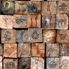 Dcohom Vintage Wooden Brick 3D Wallpaper For Bedroom Living Room Restaurant Background Walls Decor Vinyl Wall