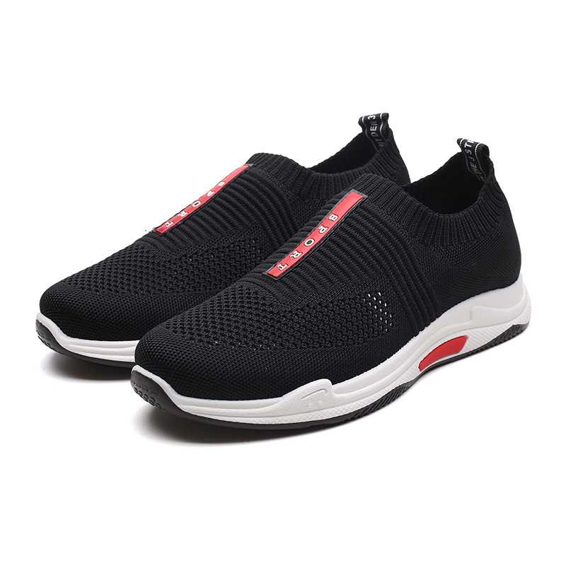 2018 new Sneakers Jogging shoes for men sports running Shoes Fly Weave Mens Trainers Walking Sport Gym Shoes Zapatillas Hombre